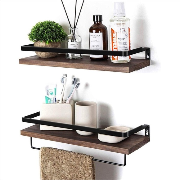 Other - 💕Farmhouse Wall Floating Shelves Solid Wood New💕